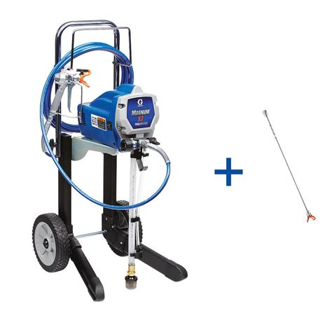 home depot airless paint sprayer graco x7 airless paint sprayer with 20 in tip extension