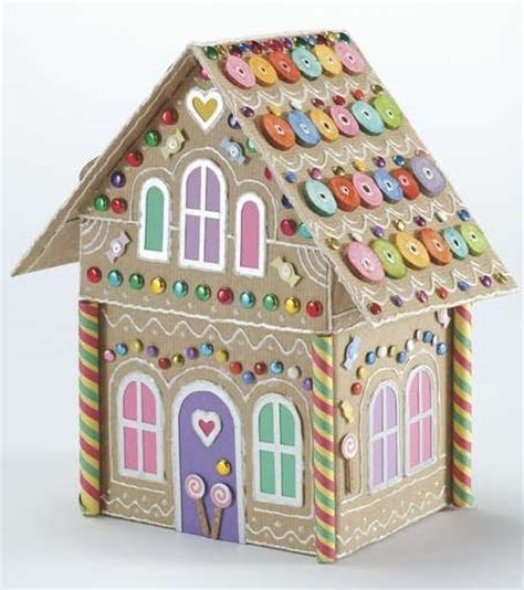 gingerbread house paper craft gingerbread house paper crafts bags boxes