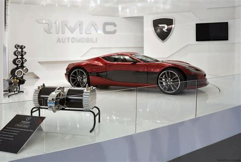 Fastest Electric Motor by Million Dollar Electric Supercar Rimac Concept One