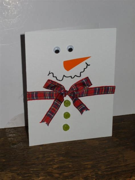 snowman cards to make easy snowman card cards