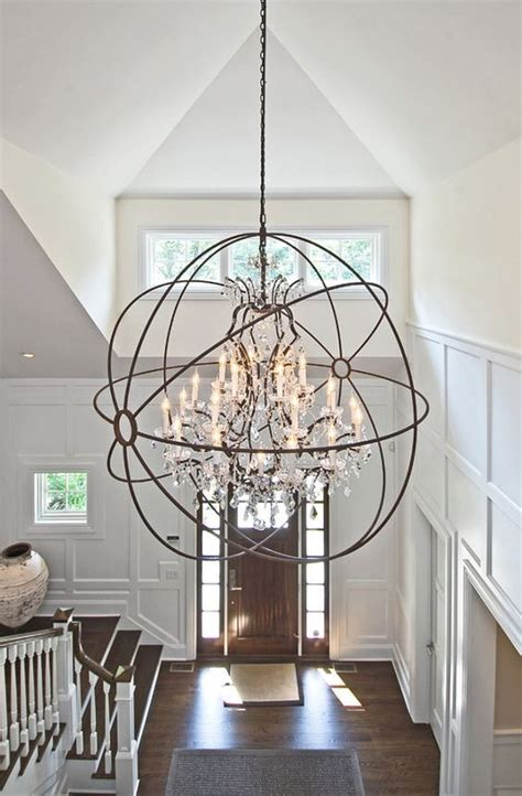 foyer chandelier height how to determine the right height for your foyer chandelier