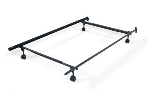 bed frame with rails bed frame with casters bed frames rails