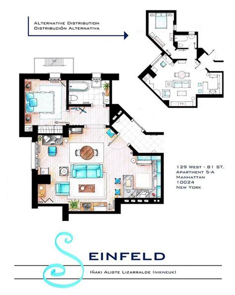 floor plans of tv show houses television show home floor plans hiconsumption