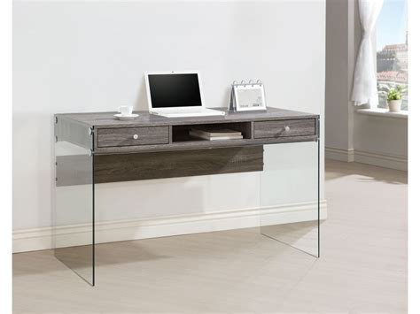 computer desk contemporary contemporary computer desk weathered grey finish