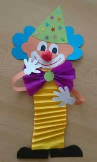 clown crafts for m 225 s de 25 ideas incre 237 bles sobre payasos en
