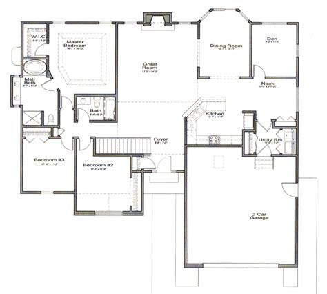 house floor plans with photos best open floor house plans cottage house plans