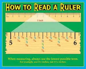 how to read 1000 images about reading a ruler on