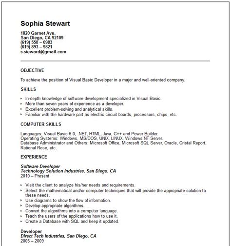 resume exaples pics for gt basic resume examples