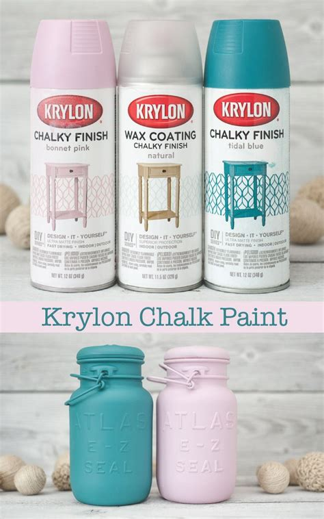 chalk paint in a sprayer chalk paint finish now in a spray paint changer