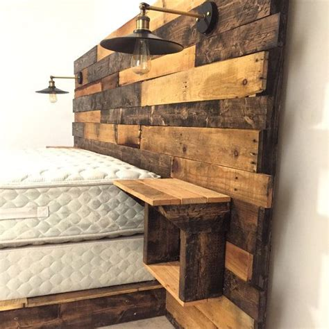 woodworking headboard best 25 reclaimed wood headboard ideas on diy