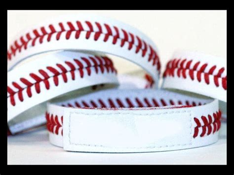 baseball for bracelets 1000 ideas about baseball bracelet on