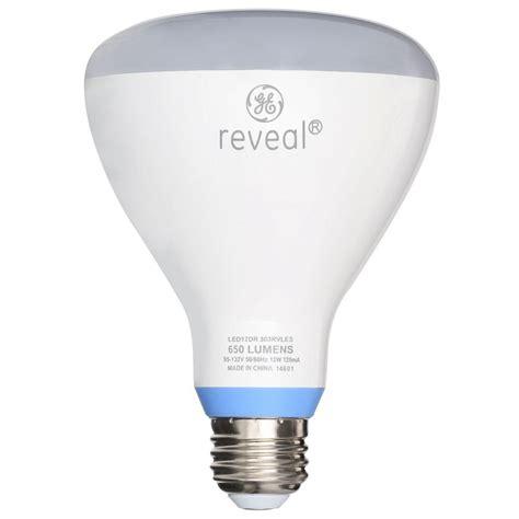 65w led flood light bulb ge reveal 65w equivalent reveal 2700k br30 dimmable led