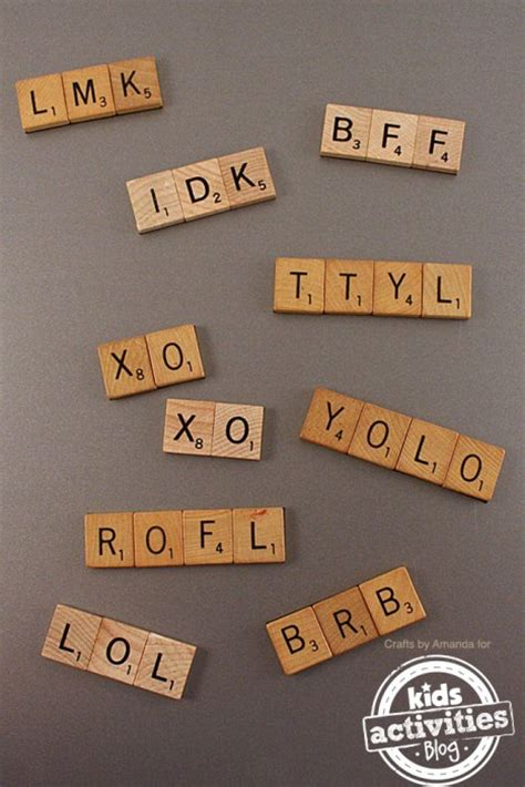 scrabble acronyms 38 diy craft ideas to repurpose boards to sell