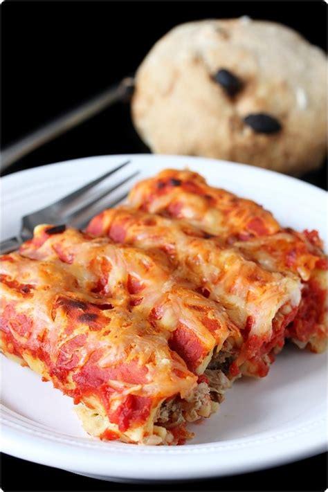 cannelloni farcis au thon chefnini