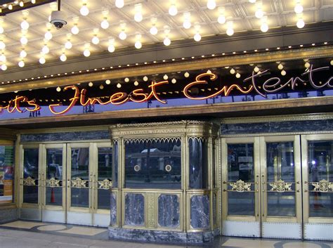 Cadillac Theatre Box Office by Fox Theatre Detroit Autos Post