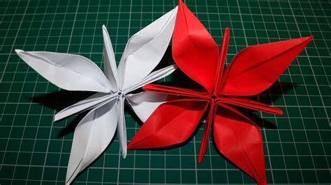 flor origami como fazer uma flor de papel origami