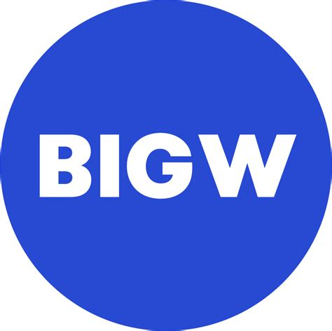 lights big w big w think unbeatable savings think big think big w