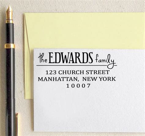 custom address rubber st personalized rubber st custom return address st