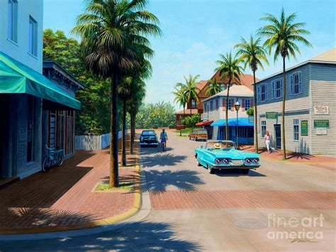 key west painting greene key west painting by frank dalton