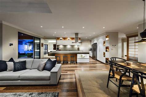 decoracion de interiores de cocina dise 241 o de casa de un piso estilo oriental con planos