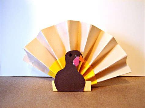 paper fan craft top 10 make a turkey craft paper bag plate
