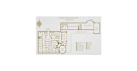 west wing floor plan floor west wing the white house floor plan poster