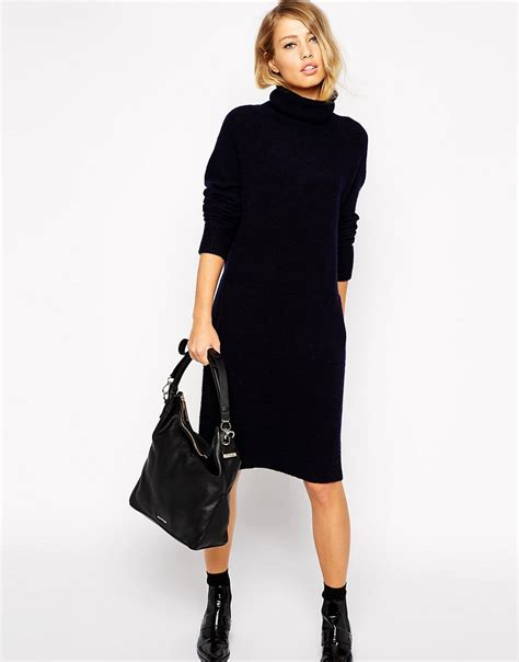 knit dress whistles whistles slouchy knit dress at asos