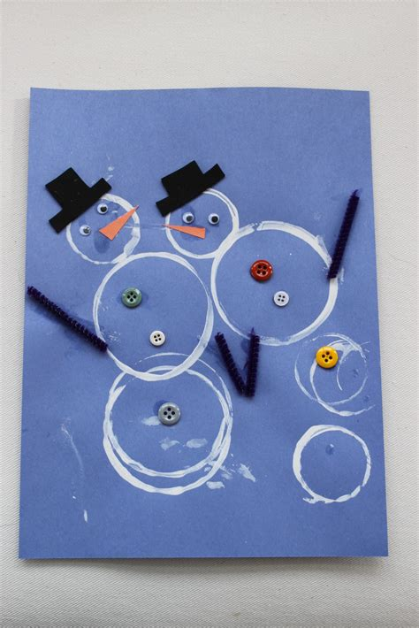 winter craft projects for preschoolers house winter crafts