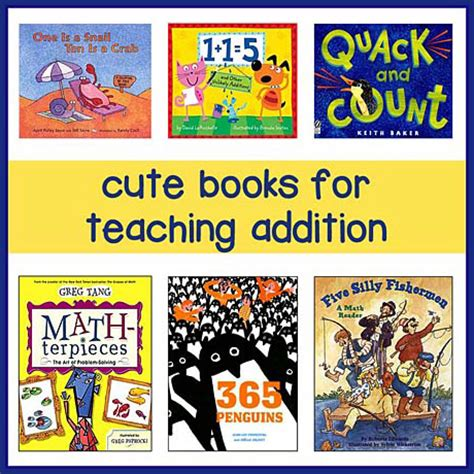 picture books to teach math childrens books for teaching addition books make