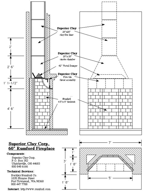 fireplace plan rumford fireplace designs images