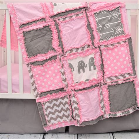 pink and gray elephant crib bedding best 25 elephant crib bedding ideas on