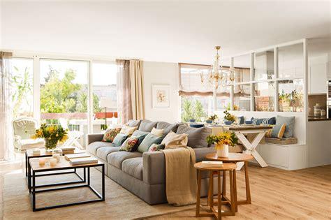 decoracion de mesas de salon salones con comedor buenas ideas para compartir espacio
