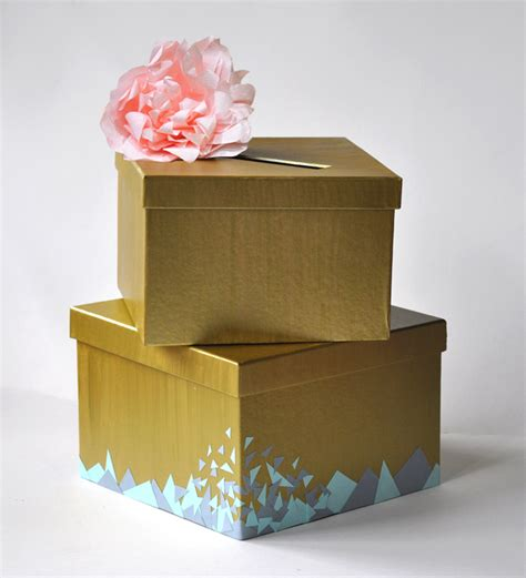 Make A Wedding Card Box