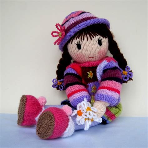 knitted doll faces free beginner easy knitting and crochet patterns