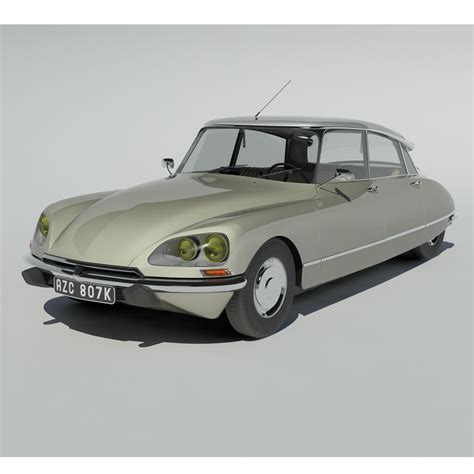 Citroen Ds21 by Citroen Ds21 3d Model Max Cgtrader