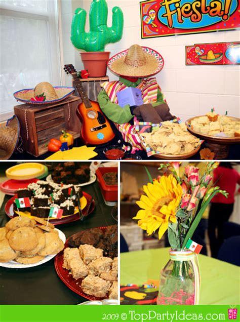 Mexican Theme Party Or Cinco De Mayo Party Top Party Ideas
