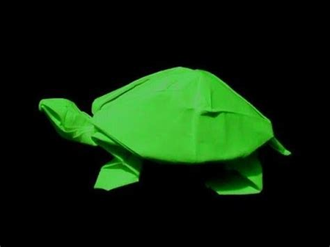 easy turtle origami how to make origami turtle robert j lang