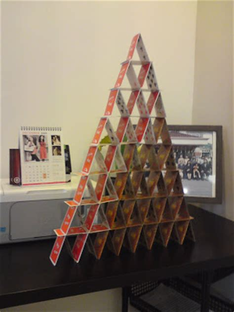 how to make a card tower feel the card towers