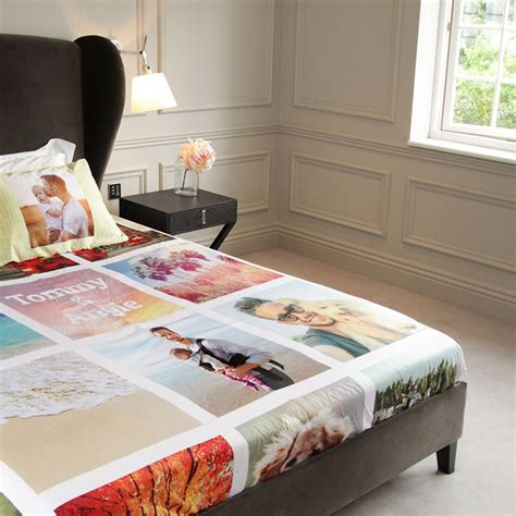 sheets for bed personalised bed sheets uk design print your own