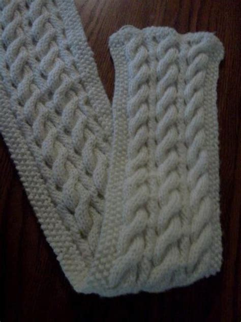 free reversible scarf knitting patterns reversible cable scarf free pattern crochet