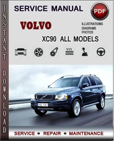 manual repair free 2012 volvo xc90 parking system service manual old car repair manuals 2003 volvo xc90 transmission control service manual