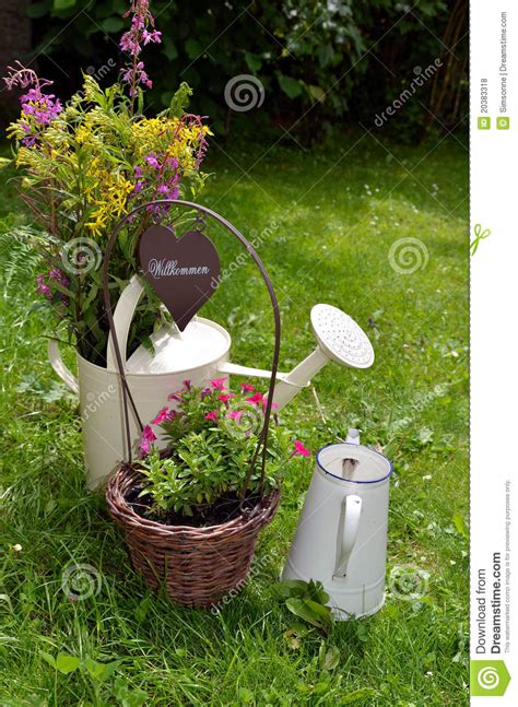 Mini Kitchen Design Ideas garden decoration flower heart royalty free stock photos