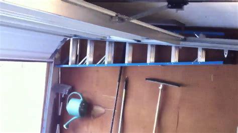low overhead garage door opener wayne dalton low overhead garage door rail kit