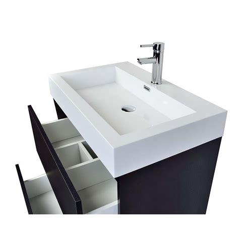 bathroom vanities tn 29 5 quot contemporary bathroom vanity black tn ly750 bk
