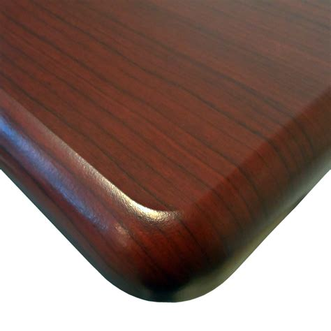 woodworking rounded edges omega everest thermodesk table top by imovr ergocanada