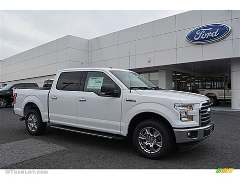 White Ford by 2017 Oxford White Ford F150 Xlt Supercrew 117434708 Photo