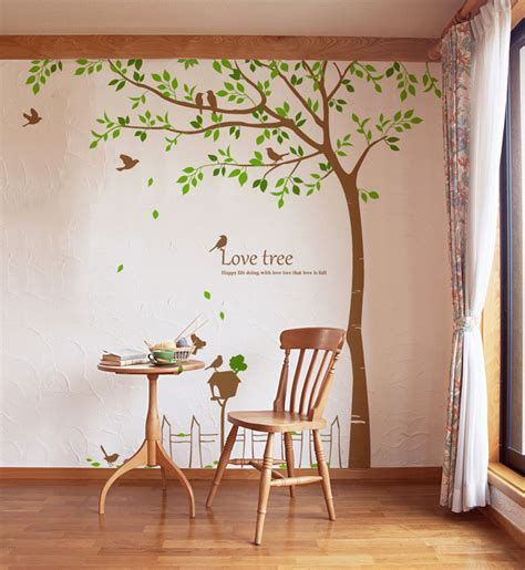 wall decor tree stickers wall decals large tree 2017 grasscloth wallpaper