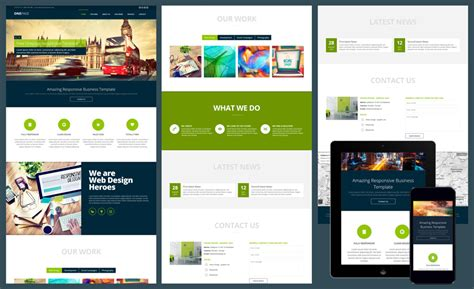templates free 12 free responsive business website templates