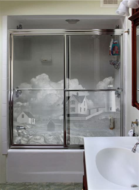 etched glass shower doors shower doors westport glass products