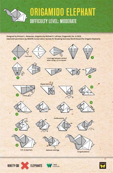 how to make a elephant origami 25 best ideas about origami elephant on paper